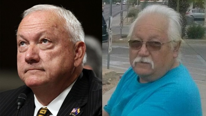 For the last four years, Salvador Reza (right) has been waging a lawsuit against former Senate President Russell Pearce (left), the author of Arizona's controversial immigration law SB1070, after he was banned from the state's senate buildings.