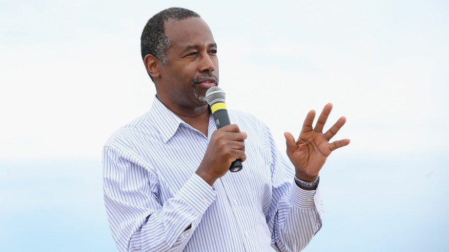 Republican presidential hopeful Dr. Ben Carson.