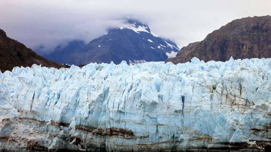 FILE: July 30, 2014: Margerie Glacier, part of Alaska's Glacier Bay National Park. Alaska.