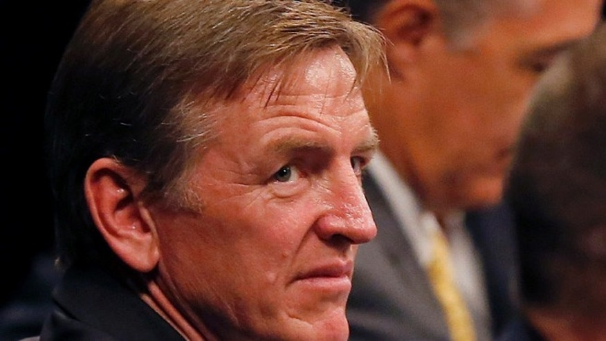 Aug. 22, 2013: Rep. Paul Gosar, R-Ariz. is seen in Mesa, Ariz. Gosar says he is boycotting Pope Francis' speech to Congress next week because of the possibility the pope may discuss his support for policies to fight climate change. (AP)