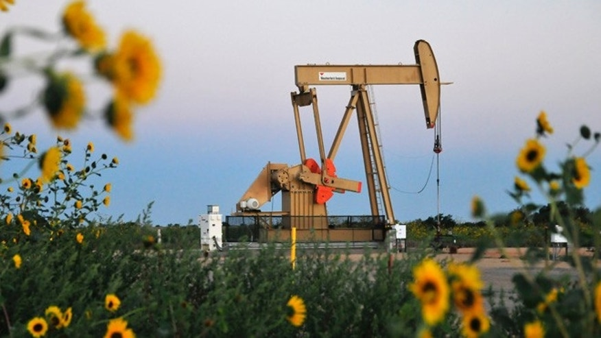 Sept. 15, 2015: A pump jack operates at a well site leased by Devon Energy Production Company near Guthrie, Oklahoma. (Reuters)