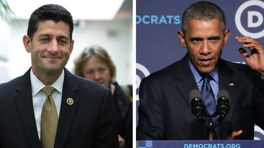 Ryan Promises Freedom Caucus -- 'There Will Be No Comprehensive Immigration Reform' Under Obama (Photos: Getty Images)