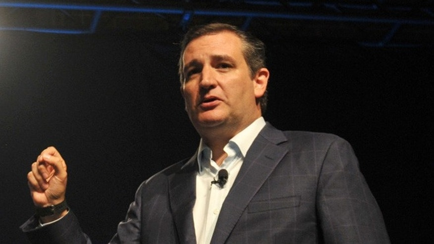 Republican presidential hopeful Sen. Ted Cruz on September 19, 2015 in Des Moines, Iowa.