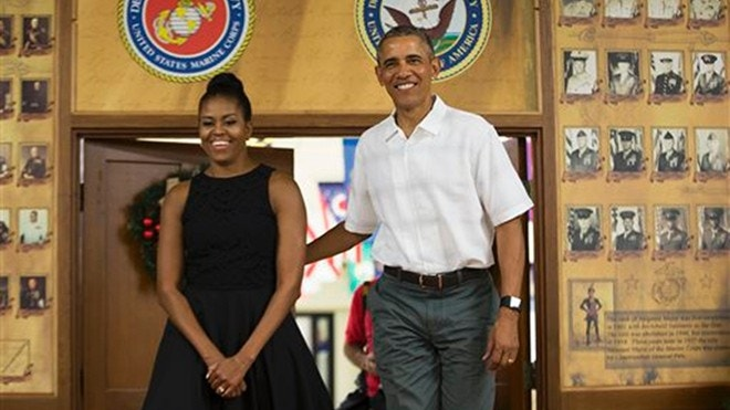 Obama Thanks Troops In Yearly Visit Calls Service Members