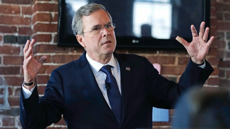 Former Florida Gov. Jeb Bush during a campaign stop in Derry, N.H., Tuesday, Jan. 5, 2016.