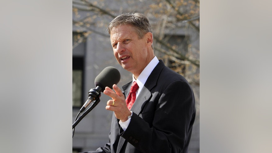 April 21, 2011: Former New Mexico Gov. Gary Johnson. Johnson announced he would seek the 2016 Libertarian nomination on Jan. 6, 2016.
