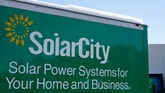 A sign is seen at the SolarCity building in Denver February 17, 2015. SolarCity reports earnings after the market closes February 18, 2015.  REUTERS/Rick Wilking (UNITED STATES - Tags: BUSINESS ENERGY LOGO) - RTR4PZBC