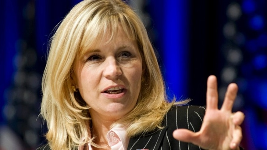 Feb. 18, 2010: Liz Cheney addresses the Conservative Political Action Conference in Washington.
