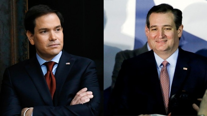 Marco Rubio (left) and Ted Cruz. (Photos: AP)