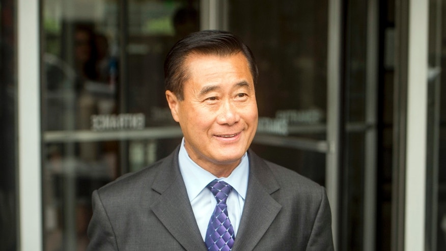 July 31, 2014: California state Sen. Leland Yee, D-San Francisco, leaves federal court in San Francisco.