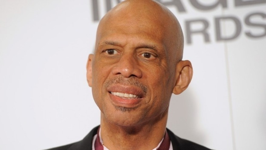 NBA all-time scorer, MVP, All-Star Kareem Abdul-Jabbar