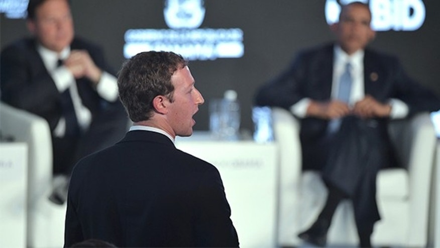 Facebook CEO and founder Mark Zuckerberg in Panama City on April 10, 2015.