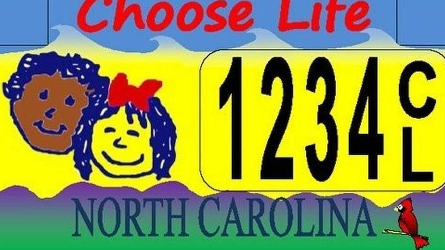 An appeals court ruled North Carolina could issue pro-life license plates without corresponding pro-choice plates.
