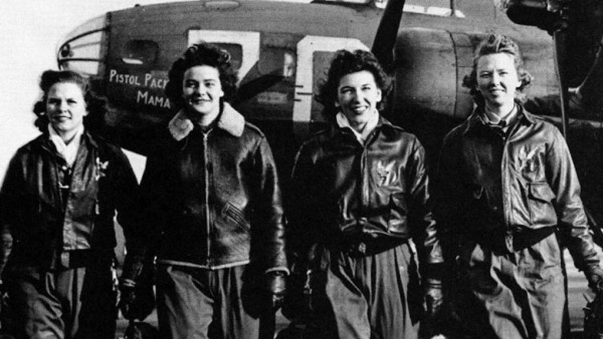 Considered non-combat, the more than 1,000 women pilots risked their lives in the war effort. (US Air Force)