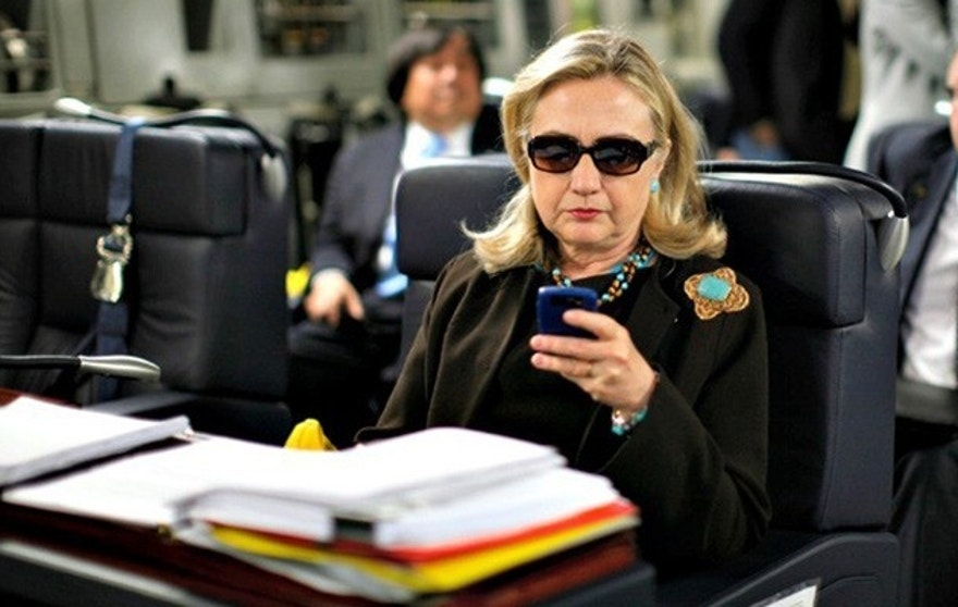 hillary clinton phone