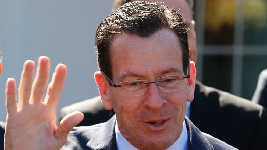 FILE: Feb, 24, 2014: Connecticut Gov. Dannel Malloy, Democrat, at the White House, Washington, D.C. (REUTERS)