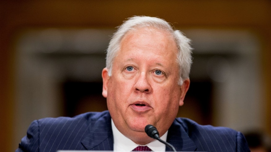 State Department Undersecretary for Political Affairs Thomas Shannon testifies on Capitol Hill.