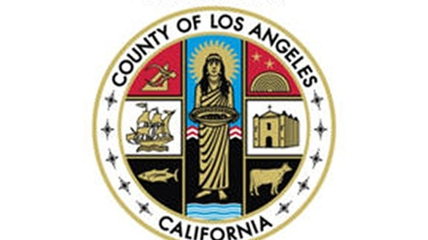 The seal of Los Angeles County is shown (U.S. District Court via AP)