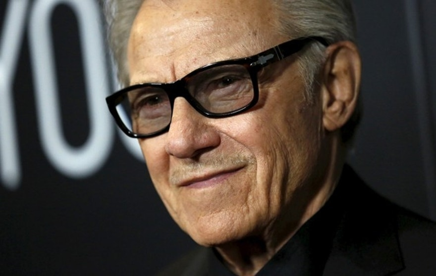"Cast member Harvey Keitel poses at the premiere of ""Youth"" at Directors Guild of America in Los Angeles, California November 17, 2015. The movie opens in the U.S. on December 4.  REUTERS/Mario Anzuoni - RTS7OMU"