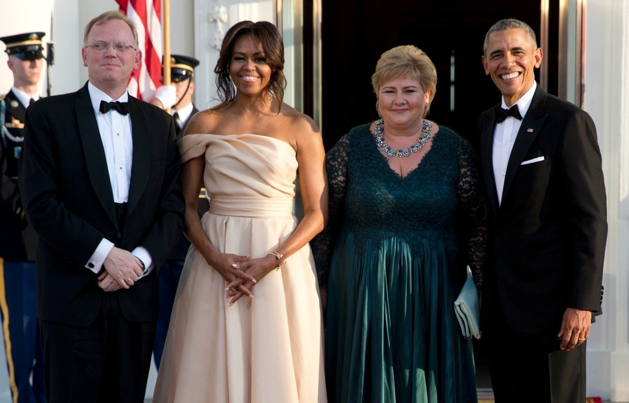 Obama hosts Nordic leaders, celebrities at White House state dinner