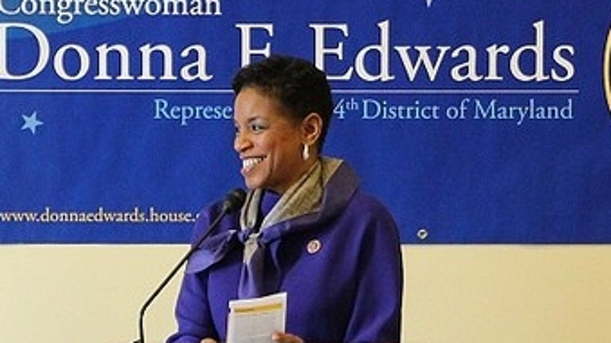 Rep. Donna Edwards said she did not know she was a superdelegate.