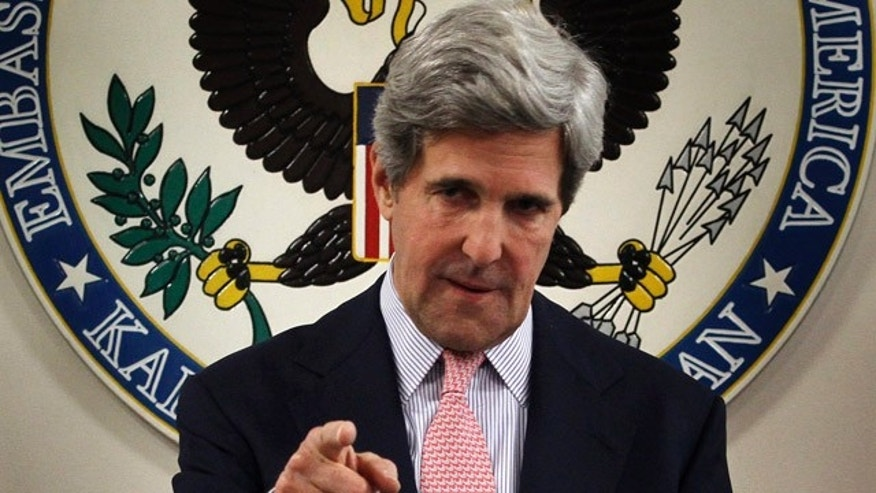 May 15: Secretary of State John Kerry.