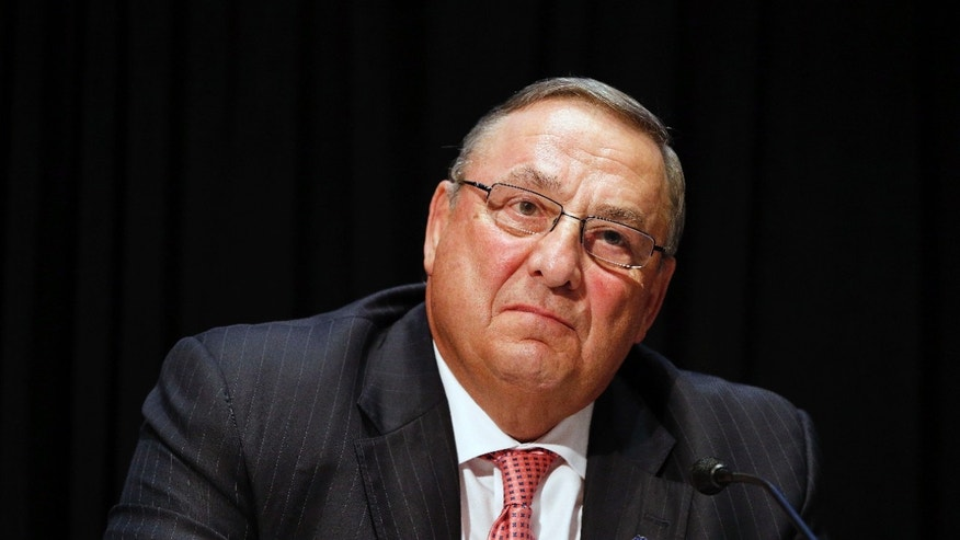 June 7, 2016: Maine Gov. Paul LePage attends an opioid abuse conference in Boston.
