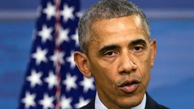President Barack Obama speaks during a news conference after attending a National Security Council Meeting on efforts to counter the Islamic State, Thursday, Aug. 4, 2016, at the Pentagon in Washington. (AP Photo/Jacquelyn Martin)