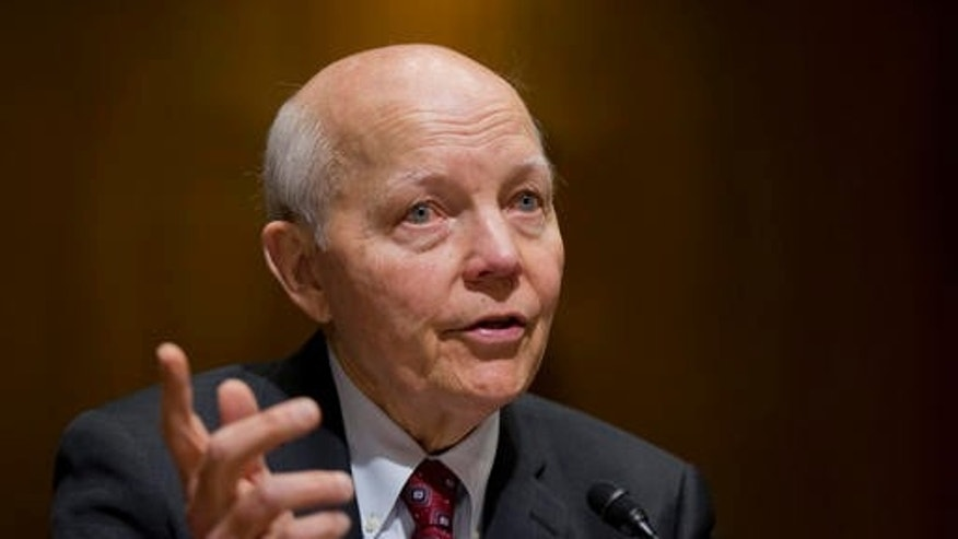 Feb. 10, 2016:  Internal Revenue Service (IRS) Commissioner John Koskinen testifies on Capitol Hill in Washington.