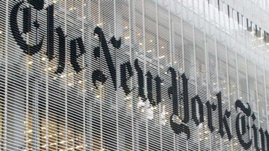 The New York Times doesn't work out of a glass house, it's actually a glass office building.