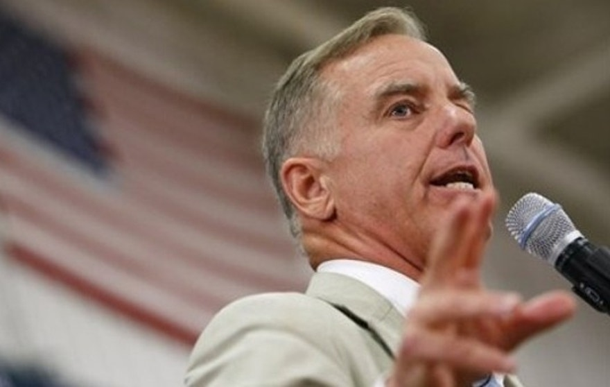 Howard Dean speaks at a town hall meeting on health care reform in Reston, Va., Aug. 25. (AP Photo)