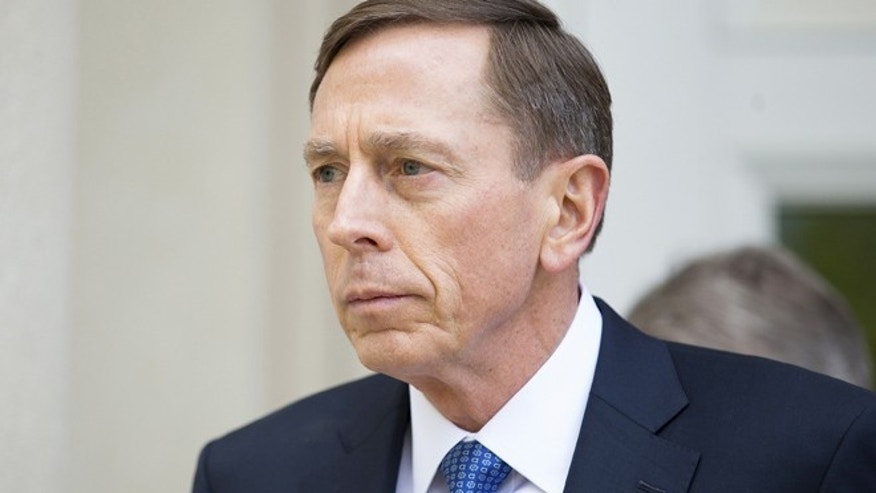 Apr. 23, 2015: Former CIA director David Petraeus leaves the Federal Courthouse in Charlotte
