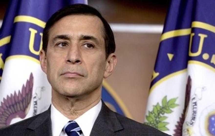 In this March 2 file photo, Rep. Darrell Issa takes part in a news conference on Capitol Hill.