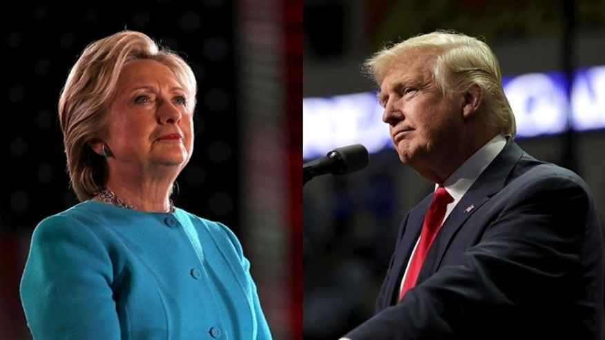 Hillary Clinton and Donald Trump. (Photos: Getty Images)
