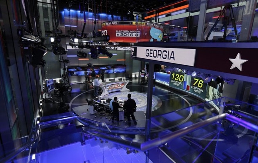 Fox News Election HQ: A stunning studio for a dramatic ...