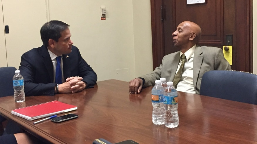 Sen. Marco Rubio meets with Cuban dissident Guillermo Farinas