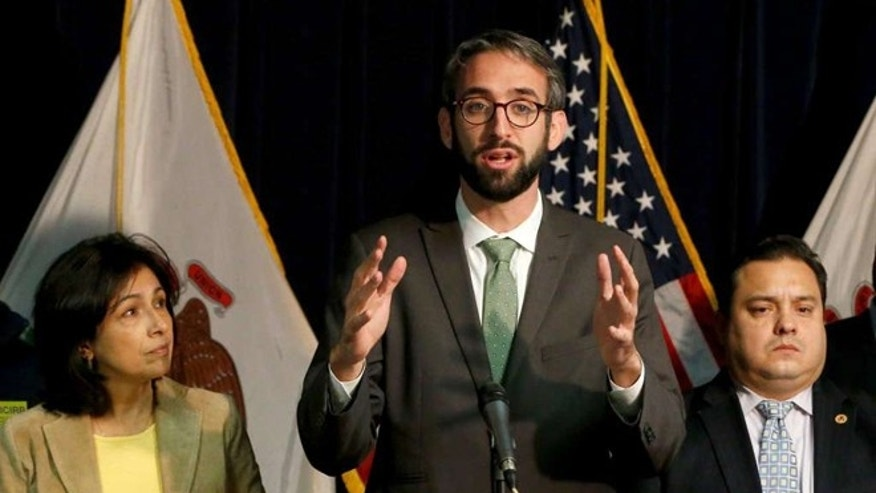 Illinois State Representatives. Will Guzzardi introduces a plan that would divest Illinois' pension funds from any companies that participate in building a wall along the Mexican border