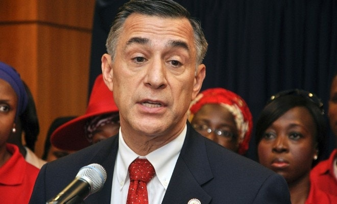 752daec8a63 FILE - In this Aug. 4, 2015 file photo U. S. Rep. Darrell Issa, R-Calif.,  speaks at a news conference at the U. S embassy in Abuja, Nigeria.