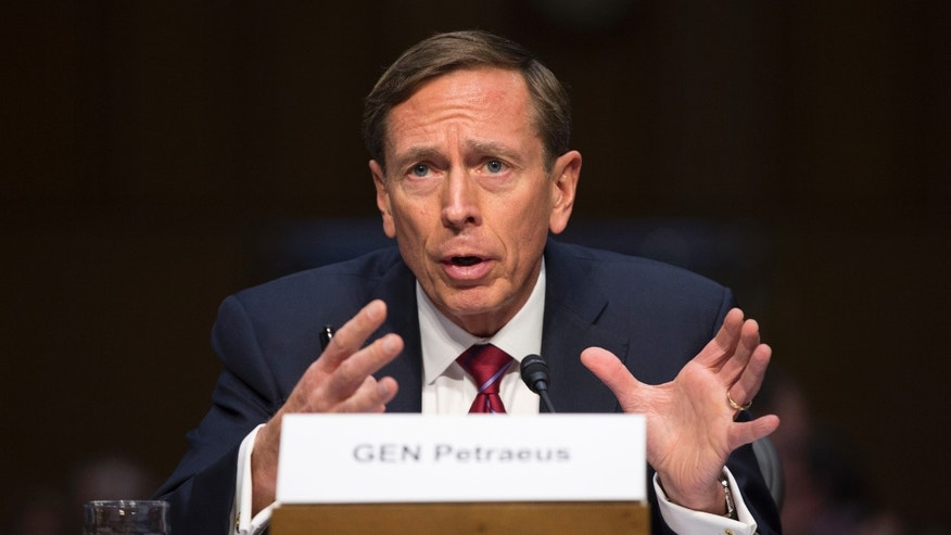 Sept. 22, 2015: David Petraeus testifies on Capitol Hill in Washington. (AP)