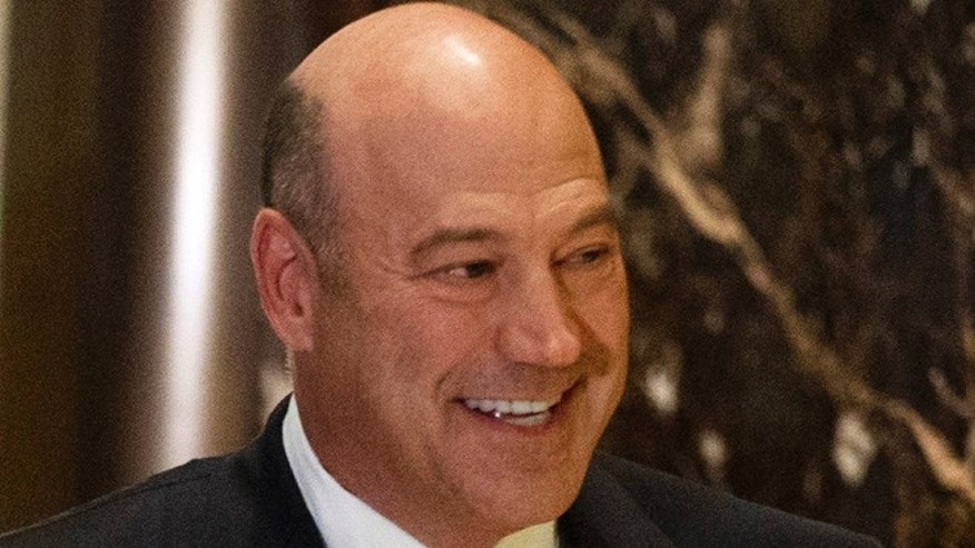 Nov. 29, 2016: Goldman Sachs COO Gary Cohn arrives at Trump Tower in NY.