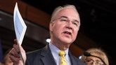 Chairman of the House Budget Committee Tom Price (R-GA) announces the House Budget during a press conference on Capitol Hill in Washington on March 17, 2015.      REUTERS/Joshua Roberts    (UNITED STATES - Tags: POLITICS BUSINESS) - RTR4TPJC