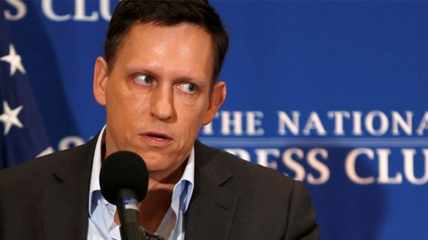 Peter Thiel may be mulling a run for California governor