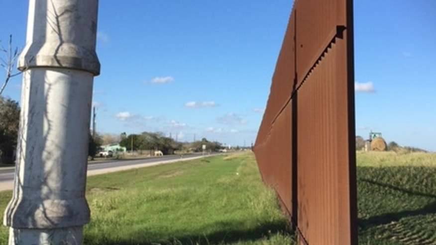 One of several border gaps in Brownsville, Texas. (FoxNews.com/Barnini Chakraborty)