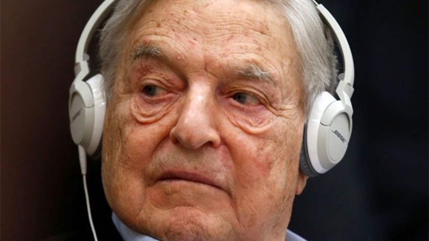 Trump is a 'would-be dictator,' George Soros says