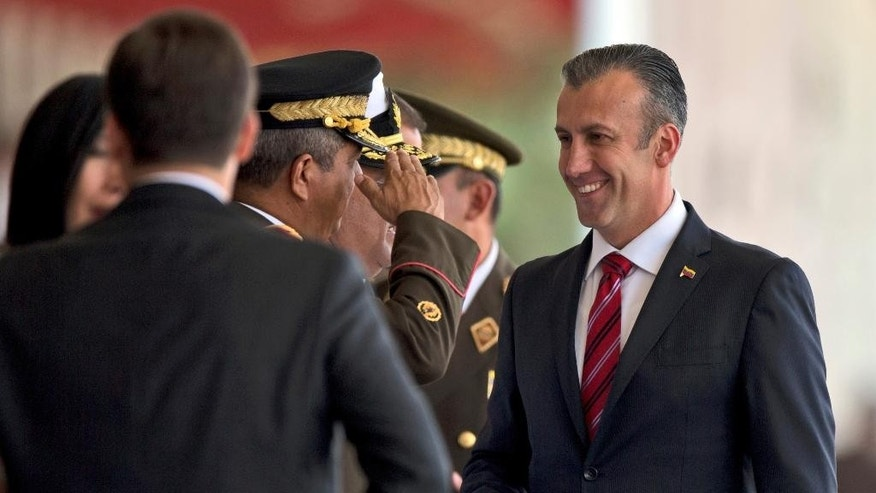 United States  sanctions Venezuelan vice president, calls him a drug 'kingpin'