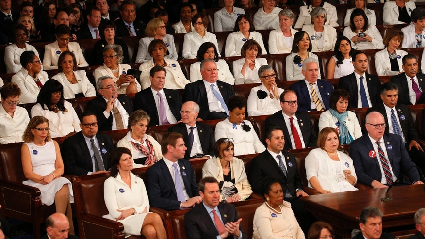 ... wear white in show of solidarity with suffrage movement | Fox News