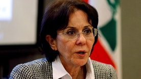U.N. Under-Secretary General and ESCWA Executive Secretary Rima Khalaf speaks during a news conference in Beirut, Lebanon March 15, 2017. Picture taken March 15, 2017. REUTERS/Mohamed Azakir - RTX319QR