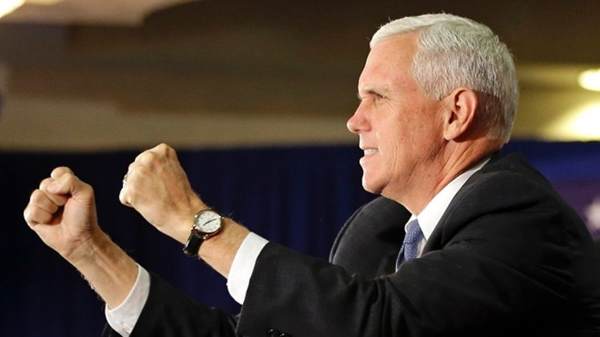 Oct. 31, 2016: Vice President Mike Pence cancels trip to Arkansas.