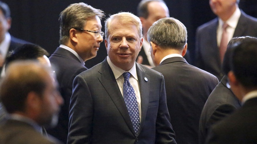 Seattle Mayor Ed Murray attends a dinner reception for Chinese President Xi Jinping in Seattle, Washington September 22, 2015