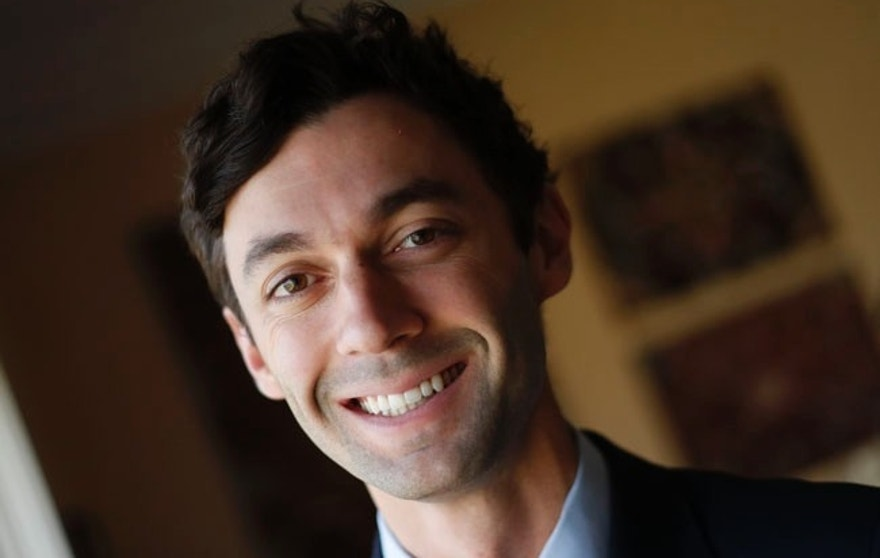 In this Feb. 10, 2017, file photo, Democratic candidate for Georgia's 6th congressional district Jon Ossoff poses for a portrait in Atlanta. Candidates for a special congressional election in Georgia are demonstrating that Republican squabbling extends well beyond Capitol Hill, while their leading Democratic rival rakes in more than $8 million in campaign cash and eyes an upset that would send ripples through Washington ahead of the 2018 midterms. (AP Photo/John Bazemore, File)